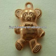 Lovely Bear Shape Pendants For Jewelry Bags Garment Decoration