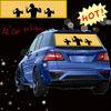Various colour brand-new car equalizer / el car sticker / sound actived car audio equalizer