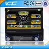 7 inch in dash car dvd player with Touch screen