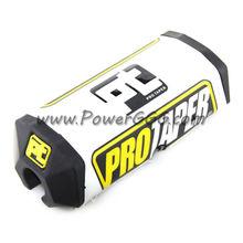 PRO TAPER NEW PRO TAPER BLACK / BLACK 2.0 SQUARE HANDLEBAR BAR PAD MX ATV PIT BIKE M BP18
