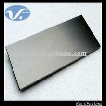 Polished ASTM B 265 Iridium coating titanium electrode