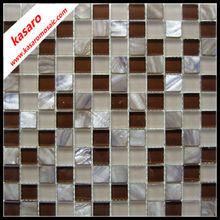 pearl glass mosaic tile,natural shell mix glass mosaic tile,hot sale shell mosaic tile