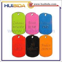 hot sale brand logo metal tag