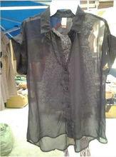 2013 de dos piezas para mujer blusa de moda de chifon