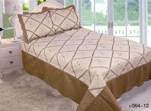 Embroidery Patchwork Quilt Set, Bedding Set, Bedspread SXH-01