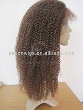 Grade5A Brazilian human hair wig human hair topper wig