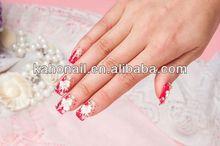 2014 Artificial Fingernails Nail tips/fashion nail art accessories natural nail products