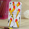 bird design case for iphone 4 cover skeleton