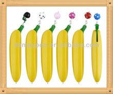 vegetable and fruit shaped banana pen