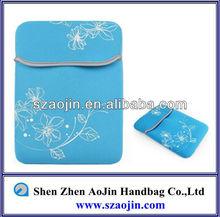 Light waterproof neoprene flower neoprene laptop sleeve