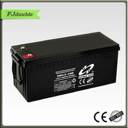 Double Tech 12V160AH exide ups batteries dry batteries for ups