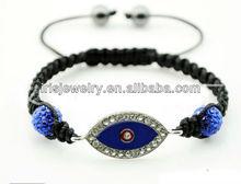 YSB143 Turkey evil eye jewelry making kits real shamballa bracelet