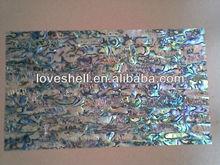 MOP, Paua, Abalone Seashell and River Shell Laminated Sheets, Veneers and Papers