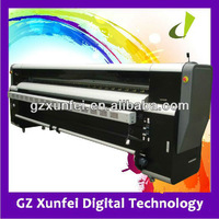 Width Format Solvent Printer SJ-3204PQ with Polaris 512/15pl print head