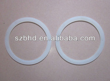 Clear Silicone Elastic Bands for Industrial Fastening