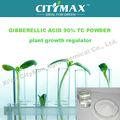 Bioestimulador giberelinas 90% de ácido em pó agricultura fertilizantes foliares de hormônio do crescimento