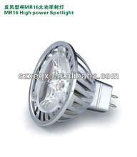 high bright led, high light and low power led bulb mr16
