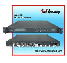 MPEG4 H.264 IP SD Encoder/SC-1107