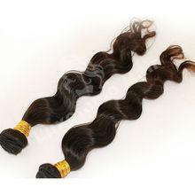 Good Quality Fashion model hair brazilian natural wave hair