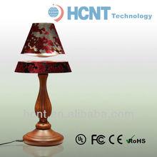 lámpara de madera para su distribución