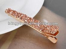 2013 beautiful crystal rhinestone hairpin BY-1421
