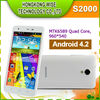 2013 newest oem S2000 5 inch unbranded mobile phone ;960*540 1GB RAM;4GB ROM Android 4.2.1