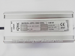 Constant Current LED Driver high power 70W Waterproof IP67 2.1A Power Supply CE ROHS for led streetlight,high power led light