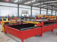 10mm steel metal plate plasma cutting machine, cutting table, small steel plate cutting