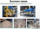 YULONG 4-6T/H Wood Pellet production line for sale