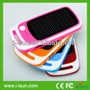 Hot solar phone solar charger with 3000mAh for mobile phones