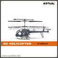 Juguetes educativos de 3.5 canales rc helicóptero