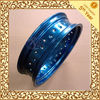 bright blue anodized & engraved cnc milling,drilling,tuning aluminum ring