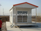 Single portable container house prefabricated