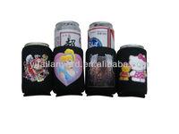 neoprene soft drinks can holder