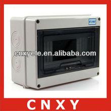 Waterproof isolator switch box distribution