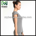 Performance soft spandex polyester knitted ropa wholesale