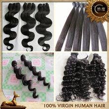New arrival best selling virgin human hair wholesale bang hair extensions