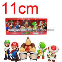 Wholesale Anime Super Mario Bros. Game PVC Figures Set of 5 pcs