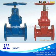no rising stem/ flange/cast iron gate valve dn80