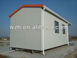 two-storey prefab house
