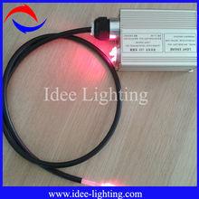 big diameter LED museum fiber optic cable lighting