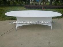 Ellipse leisure rattan meeting table