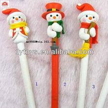 custom make small cartoon animal plastic pencil topper for kids