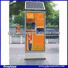 advertisement solar led display signboard