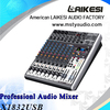 Hight quality X1832 Professional stereo Audio Mixer