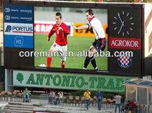 Coreman high bright 7000nit,8000nit football,basketball,soccer sports stadium led screen