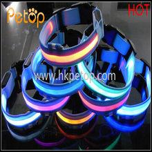 LED Safety Luminous Nylon Dog Collar