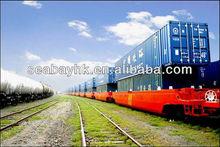 cheap railway shipping service from Guangzhou, Lianyugang, China to Karaganda, Kazakhstan