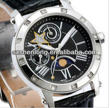 2013 automatic watch movement automatic chronograph,reverse watch