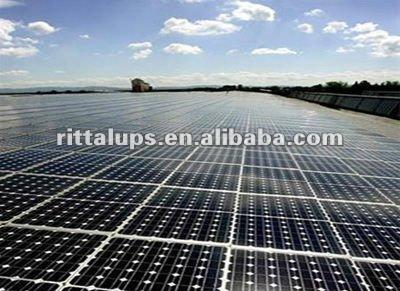 High power generation efficiency mono solar panels 200W price per watt solar panel
